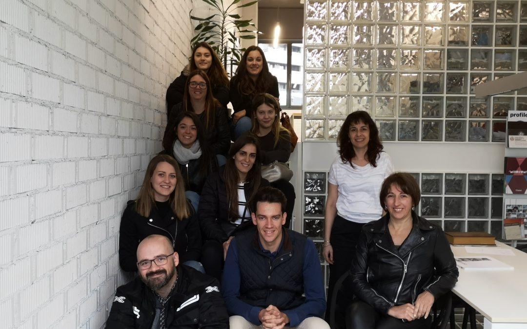 Visita a projectes de col·legiats del CoDIC-Lleida dels alumnes de l'ESDAP Ondara de Tàrrega