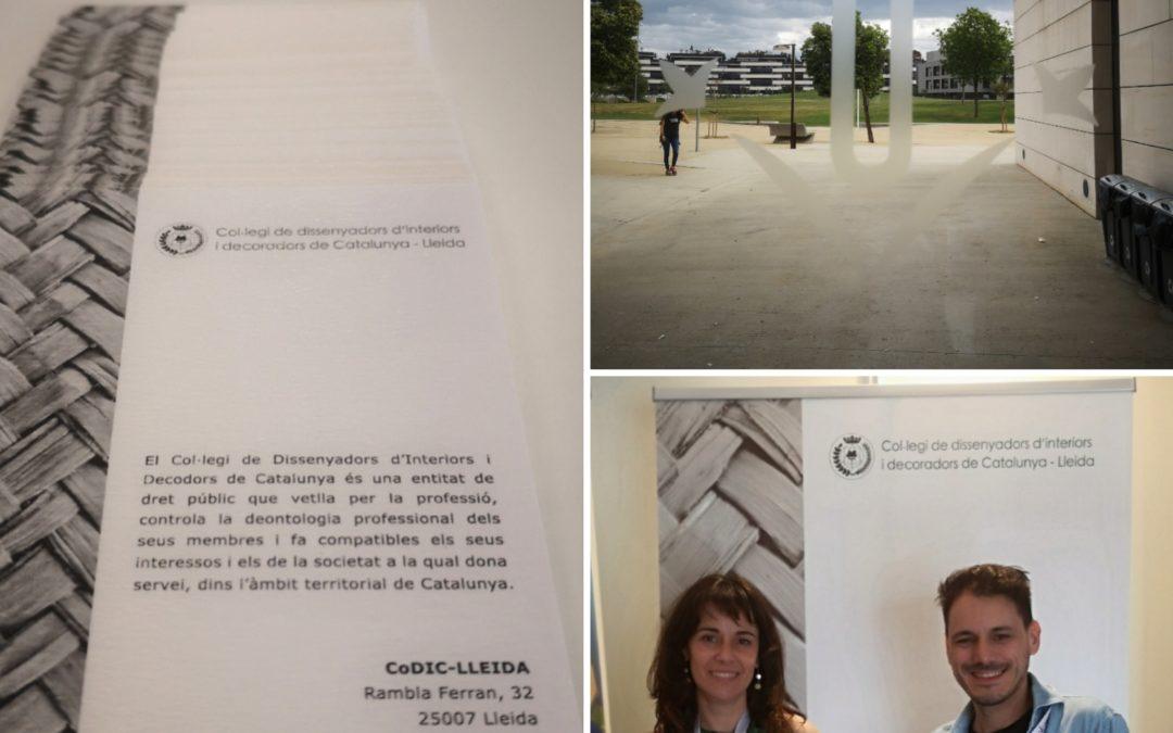 El CoDIC-Lleida representat a la Fira del Treball de la UdL