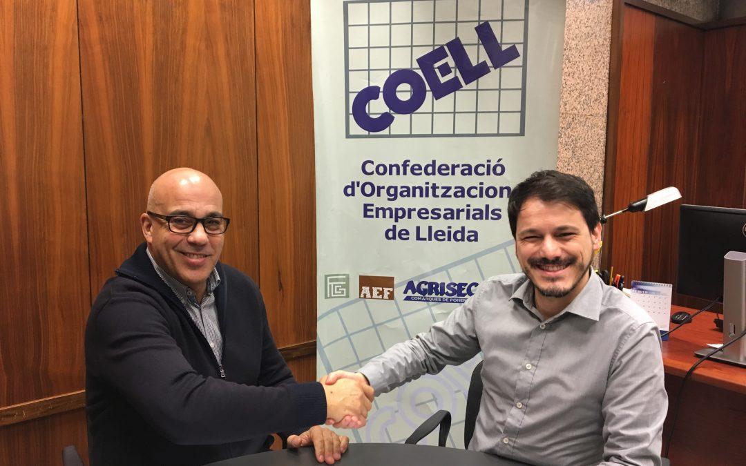 Signatura del conveni com a membre associat a la COELL
